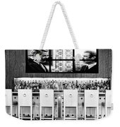 Keep Drinking Men  Palm Springs Weekender Tote Bag by William Dey