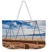 Keep Out No Playing Here Swing Set Playground Weekender Tote Bag