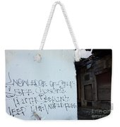Keep The World Free Weekender Tote Bag