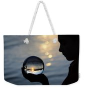 Keeper Of The Flame Weekender Tote Bag by Laura Fasulo