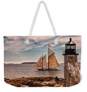 Keeping Vessels Safe Weekender Tote Bag by Karol Livote