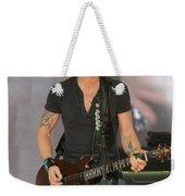 Musician Keith Urban Weekender Tote Bag