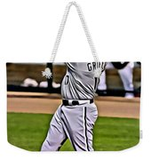 Ken Griffey Jr Painting Weekender Tote Bag