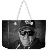 Ken The Tenor Under A Bridge Weekender Tote Bag
