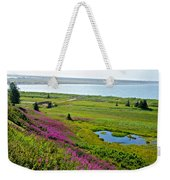 Kenai River Outlet On The Cook Inlet In Kenai-ak Weekender Tote Bag