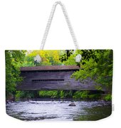 Kennedy Covered Bridge - Kimberton Pa. Weekender Tote Bag