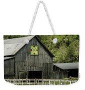 Kentucky Barn Quilt - 3 Weekender Tote Bag