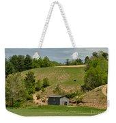 Kentucky Barn Quilt - Americana Star 2 Weekender Tote Bag