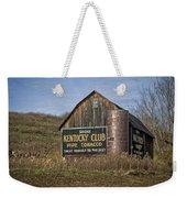 Kentucky Club Barn Weekender Tote Bag