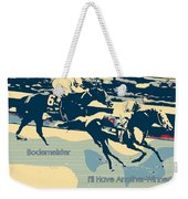Kentucky Derby Champion Weekender Tote Bag by RJ Aguilar