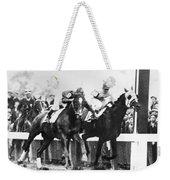 Kentucky Derby Foul Play Weekender Tote Bag