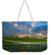 Kentucky Famous Horse Hotel Weekender Tote Bag