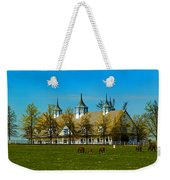 Kentucky Horse Barn Hotel Weekender Tote Bag