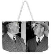 Kentucky Senators Visit Fdr Weekender Tote Bag