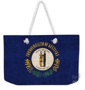 Kentucky State Flag Weekender Tote Bag