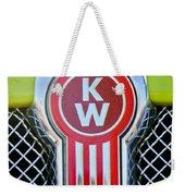 Kenworth Truck Emblem -1196c Weekender Tote Bag