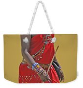 Kenya Warrior Weekender Tote Bag
