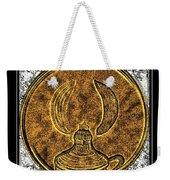 Kerosene Lamp - Brass Etching Weekender Tote Bag