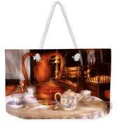 Kettle -  Have Some Tea - Chinese Tea Set Weekender Tote Bag