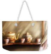 Kettle - My Grandmother's Chinese Tea Set  Weekender Tote Bag