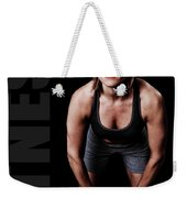 Kettlebell Time Weekender Tote Bag