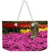 Keukenhof Floral Strata Weekender Tote Bag