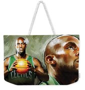 Kevin Garnett Artwork 1 Weekender Tote Bag