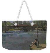 Kew Bridge, 2009 Oil On Canvas Weekender Tote Bag