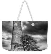 Key Biscayne Fl Lighthouse Black And White Img 7167 Weekender Tote Bag