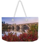 Graceful Feeling - Washington Dc Key Bridge Weekender Tote Bag