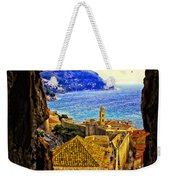 Key Hole View Of Dubrovnik 2 Weekender Tote Bag