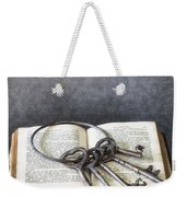 Key Ring Weekender Tote Bag