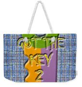 Key To Happiness Weekender Tote Bag by Patrick J Murphy