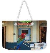 Key West - Parrot Taking A Break At Margaritaville Weekender Tote Bag