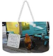 Key West - Rooster Making A Living Weekender Tote Bag