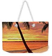 Key West Beach Weekender Tote Bag by Marty Koch