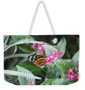 Key West Butterfly Conservatory - Monarch Danaus Plexippus 2 Weekender Tote Bag