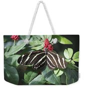 Key West Butterfly Conservatory - Zebra Heliconian Weekender Tote Bag