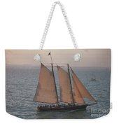 Sail Boat - Key West Florida Weekender Tote Bag