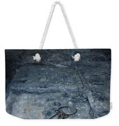 Keys On Stone Floor Weekender Tote Bag by Jill Battaglia