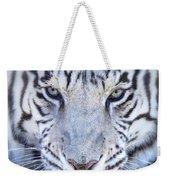 Khan The White Bengal Tiger Weekender Tote Bag