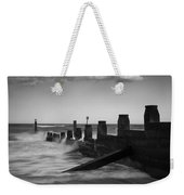 Kicked In The Groyne Weekender Tote Bag