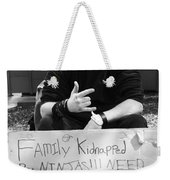 Kidnapped By Ninjas Weekender Tote Bag