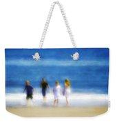 Kids At The Beach Weekender Tote Bag