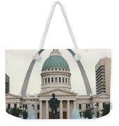 Kiener Plaza - St Louis Missouri Weekender Tote Bag
