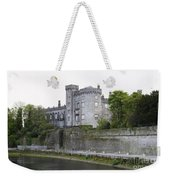 Kilkenny Castle Seen From River Nore Weekender Tote Bag