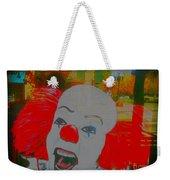 Killer Clowns In Fresco Weekender Tote Bag