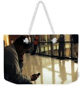 Killing Time At The Courthouse  Weekender Tote Bag