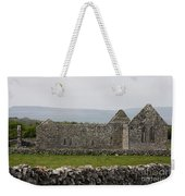Kilmacduagh Church Ruin Weekender Tote Bag