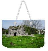 Kilmore Church Ruins - Founded By St Patrick - Ballina Co Mayo Weekender Tote Bag